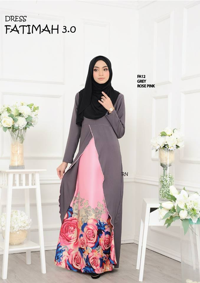 DRESS FATIMAH 3.0 FA12 A