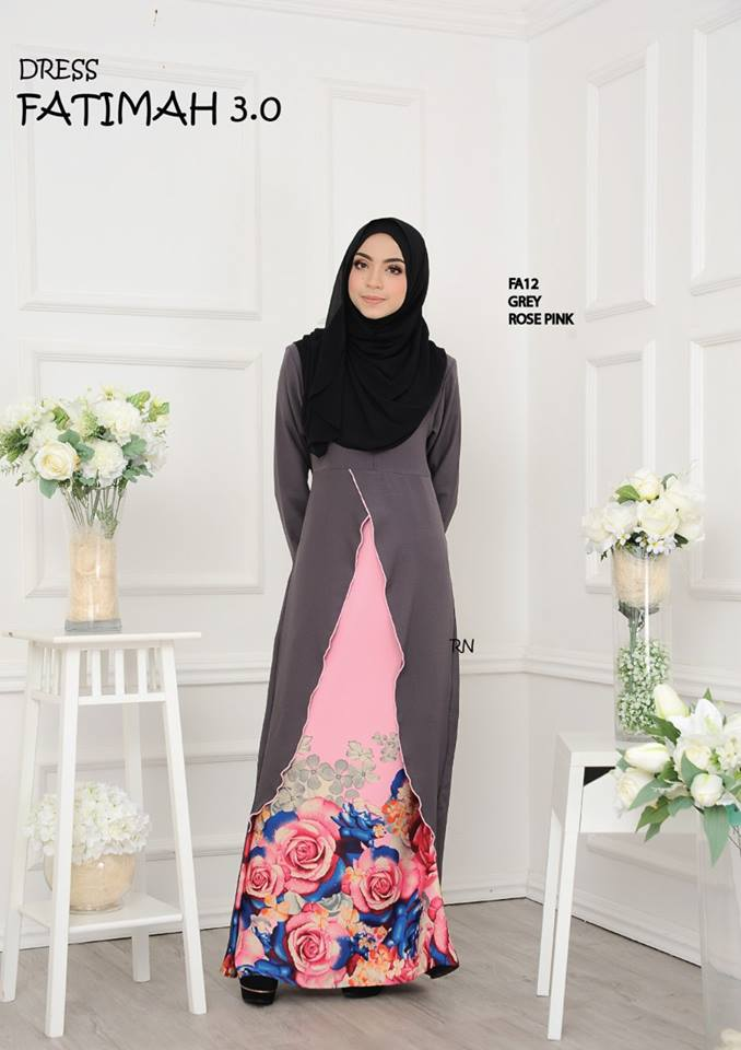 DRESS FATIMAH 3.0 FA12