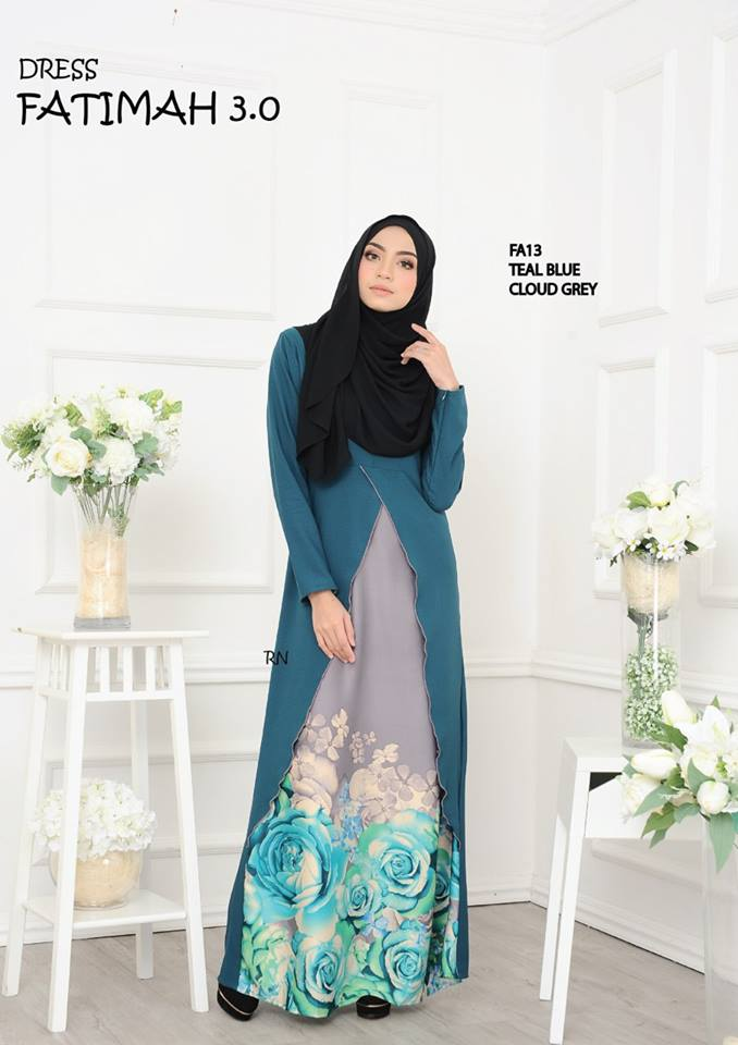DRESS FATIMAH 3.0 FA13