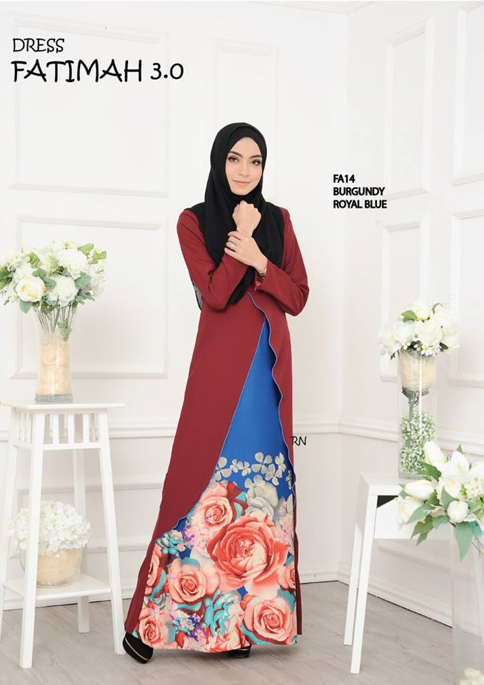 DRESS FATIMAH 3.0 FA14 A