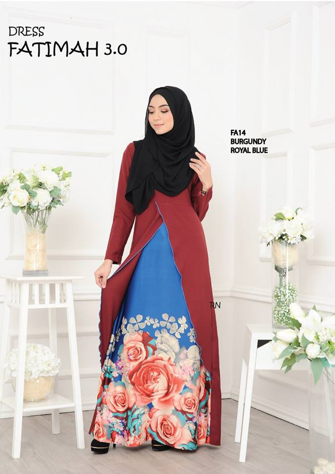 DRESS FATIMAH 3.0 FA14