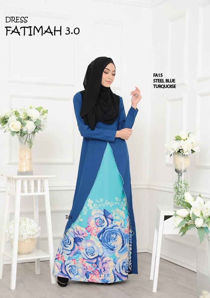 DRESS FATIMAH 3.0 FA15