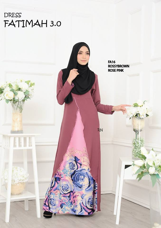 DRESS FATIMAH 3.0 FA16 A