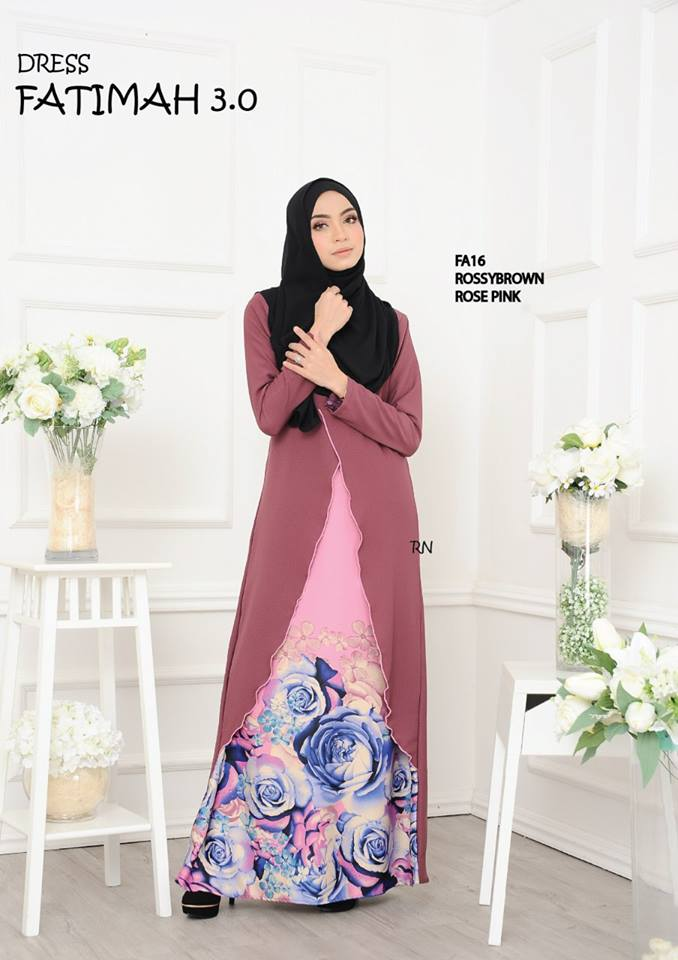 DRESS FATIMAH 3.0 FA16