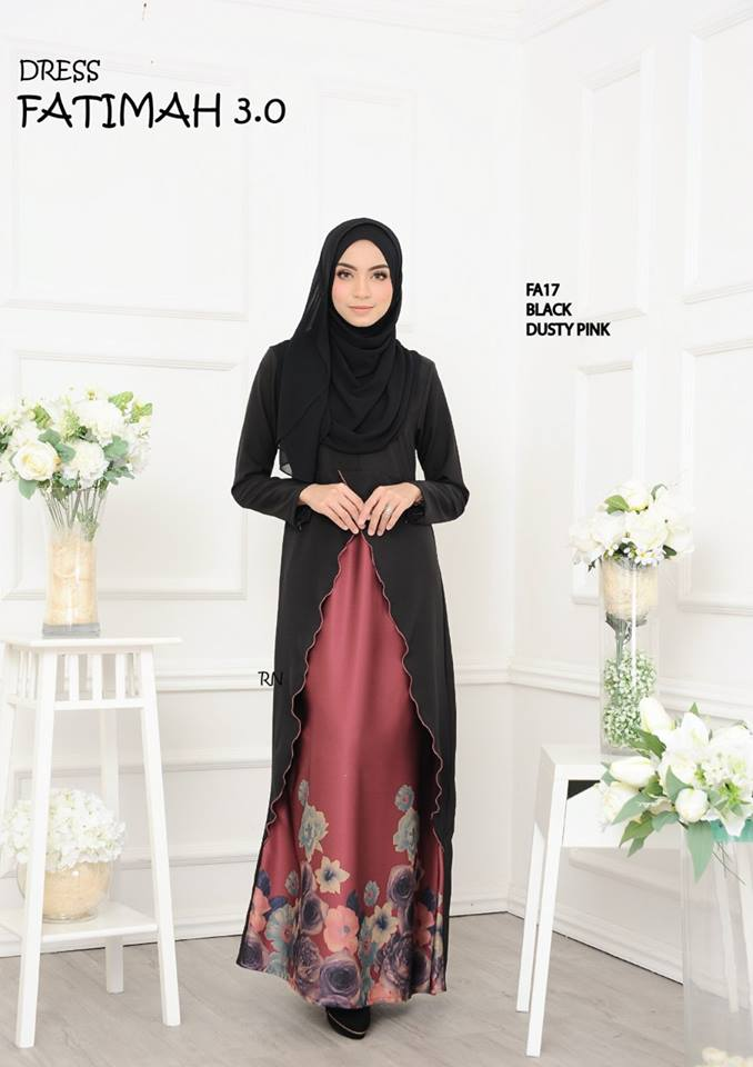 DRESS FATIMAH 3.0 FA17