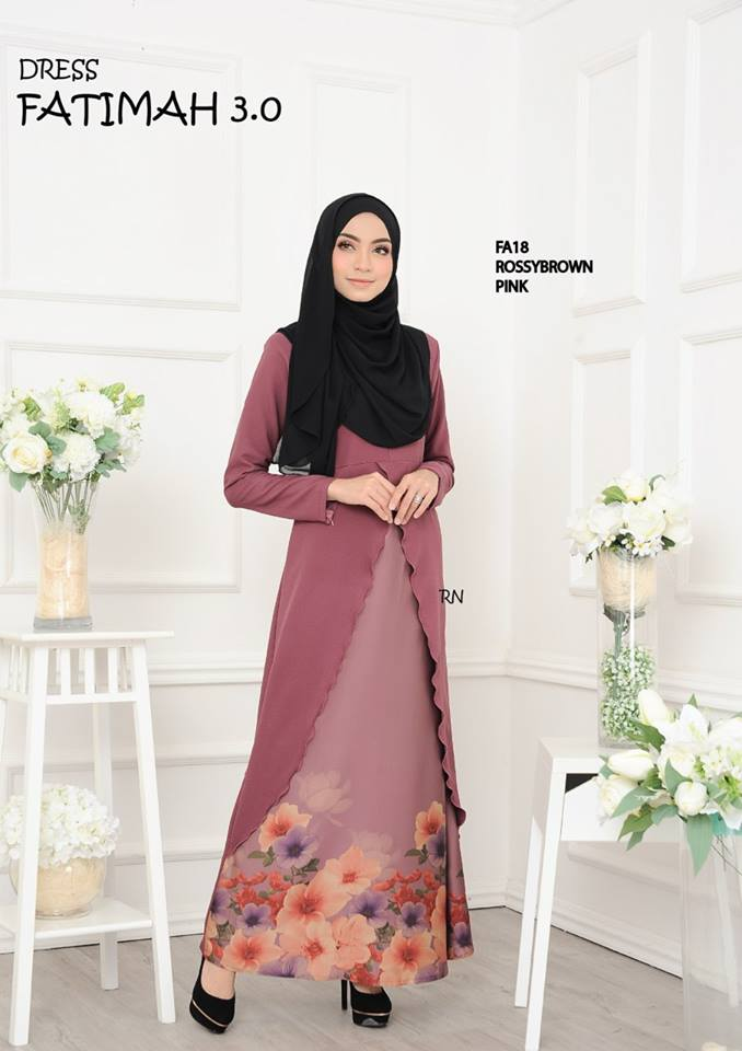 DRESS FATIMAH 3.0 FA18 A