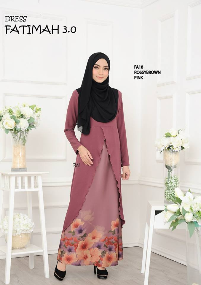 DRESS FATIMAH 3.0 FA18