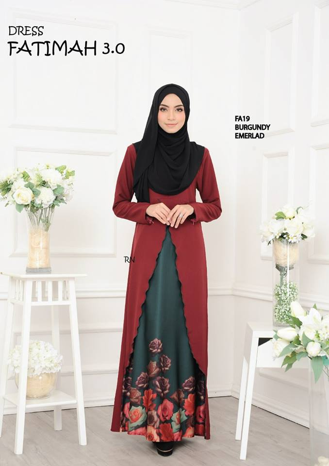 DRESS FATIMAH 3.0 FA19 A