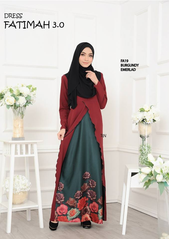 DRESS FATIMAH 3.0 FA19