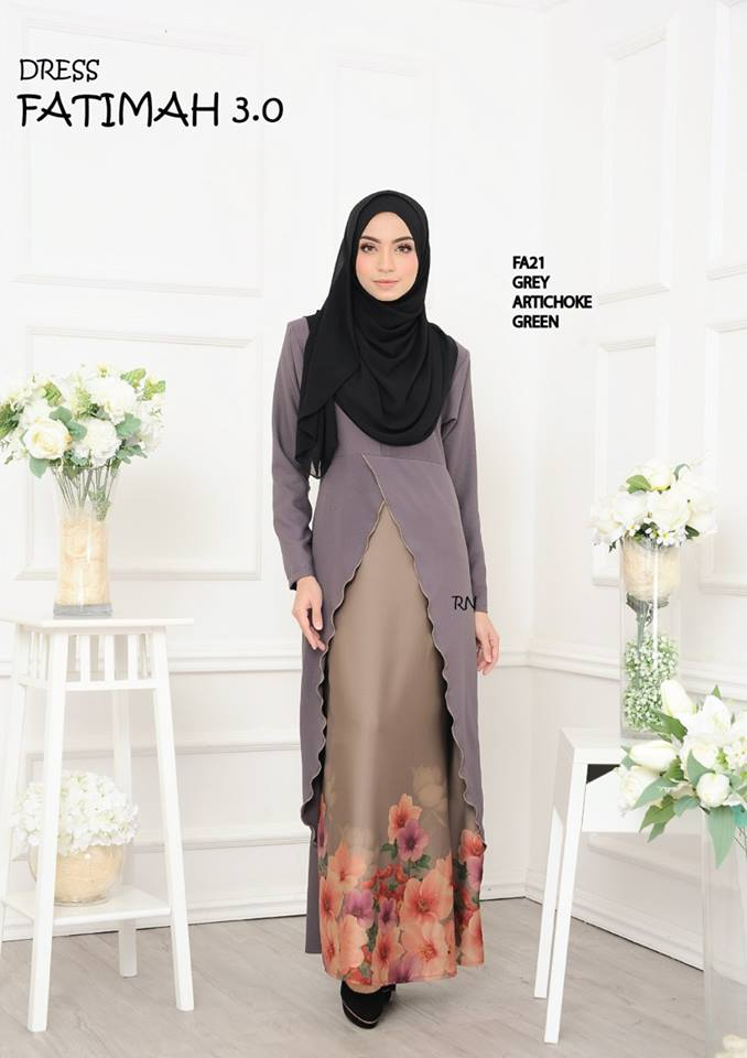 DRESS FATIMAH 3.0 FA21 B