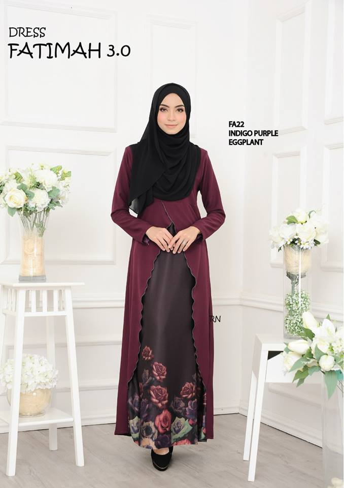 DRESS FATIMAH 3.0 FA22 B