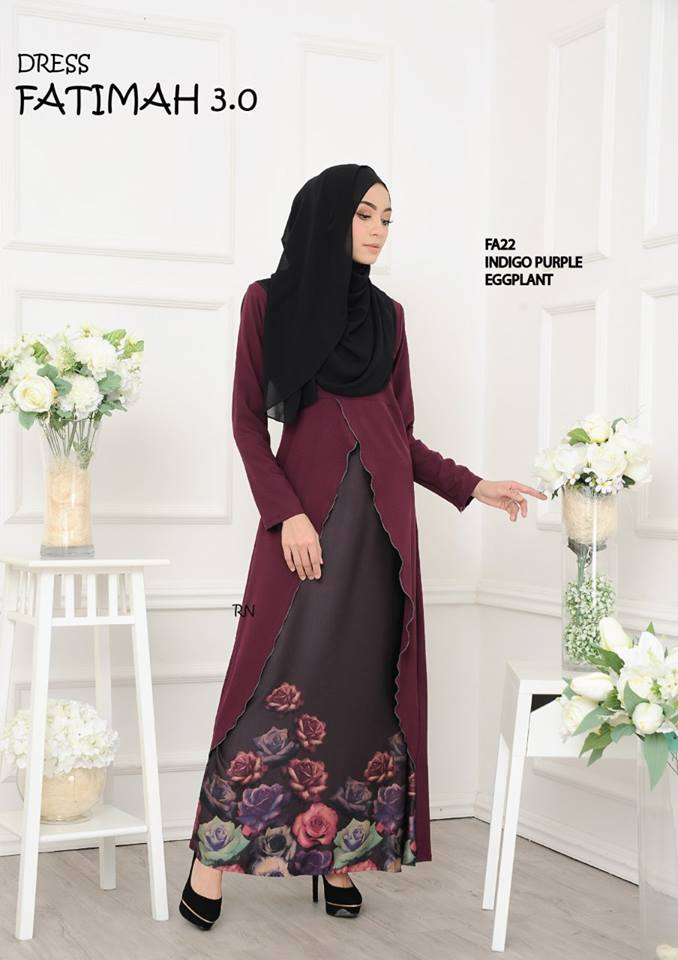 DRESS FATIMAH 3.0 FA22