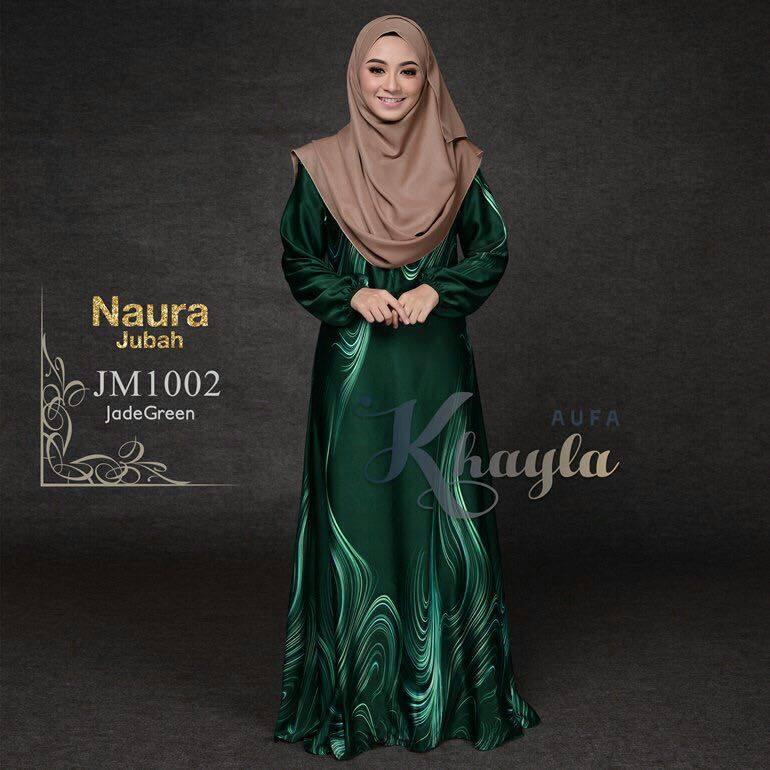 JUBAH NAURA JM1002 JADE