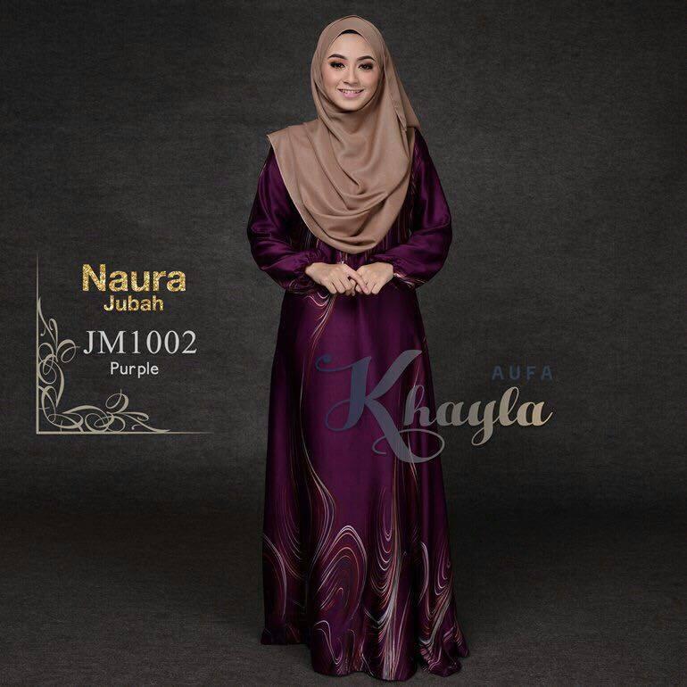 JUBAH NAURA JM1002 PURPLE