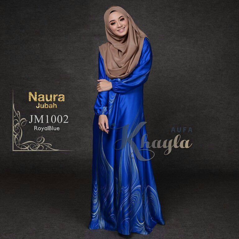 JUBAH NAURA JM1002 ROYAL BLUE