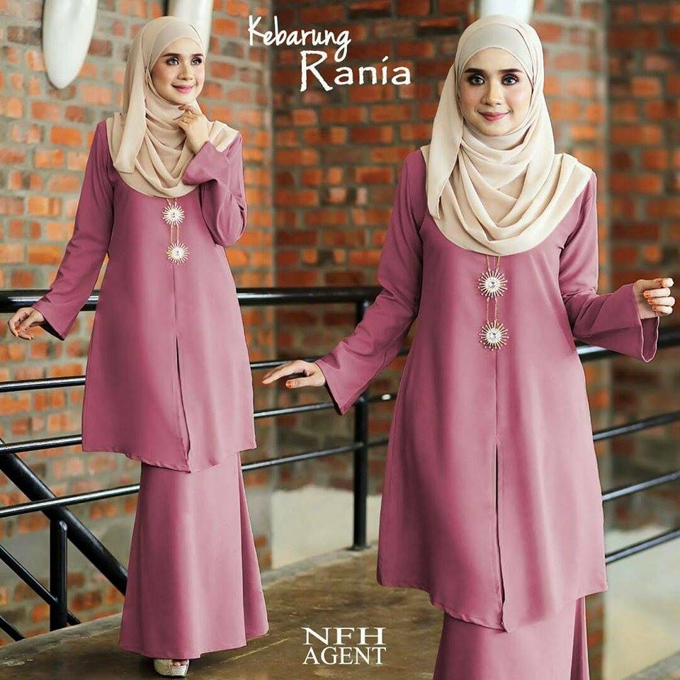 KEBARUNG RANIA 2.0 DUSTY PINK PURPLE