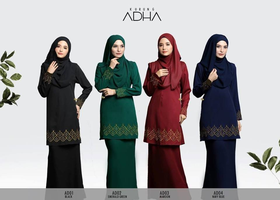 KURUNG MODEN ADHA KOD ALL