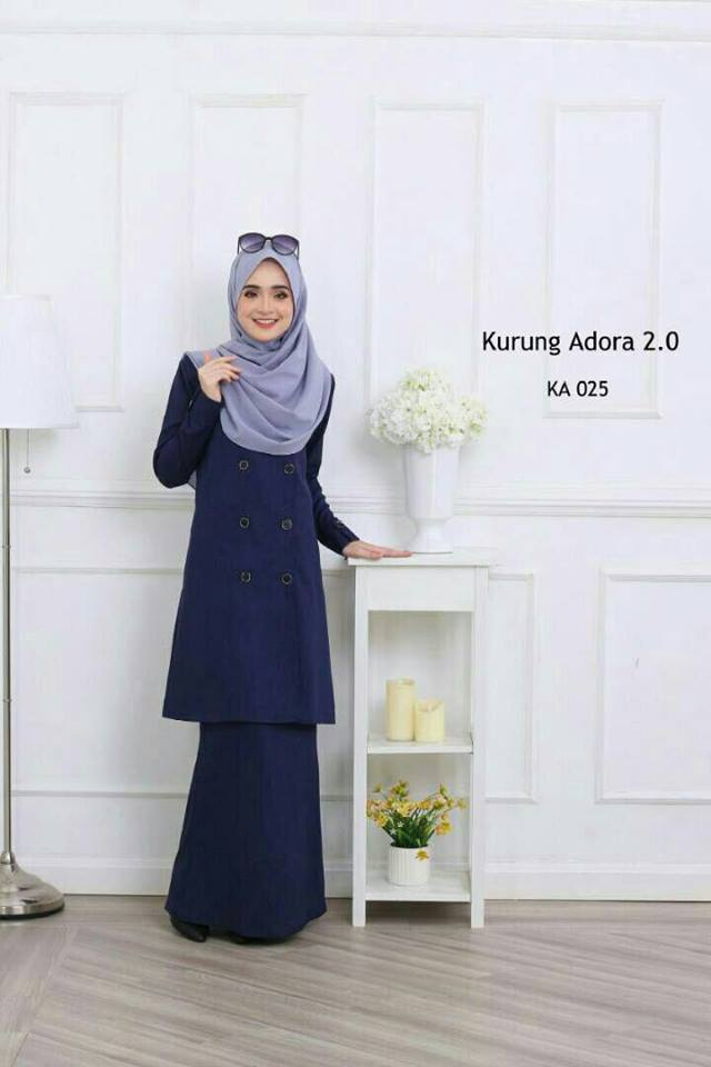 KURUNG MODEN ADORA EROPAH KA025