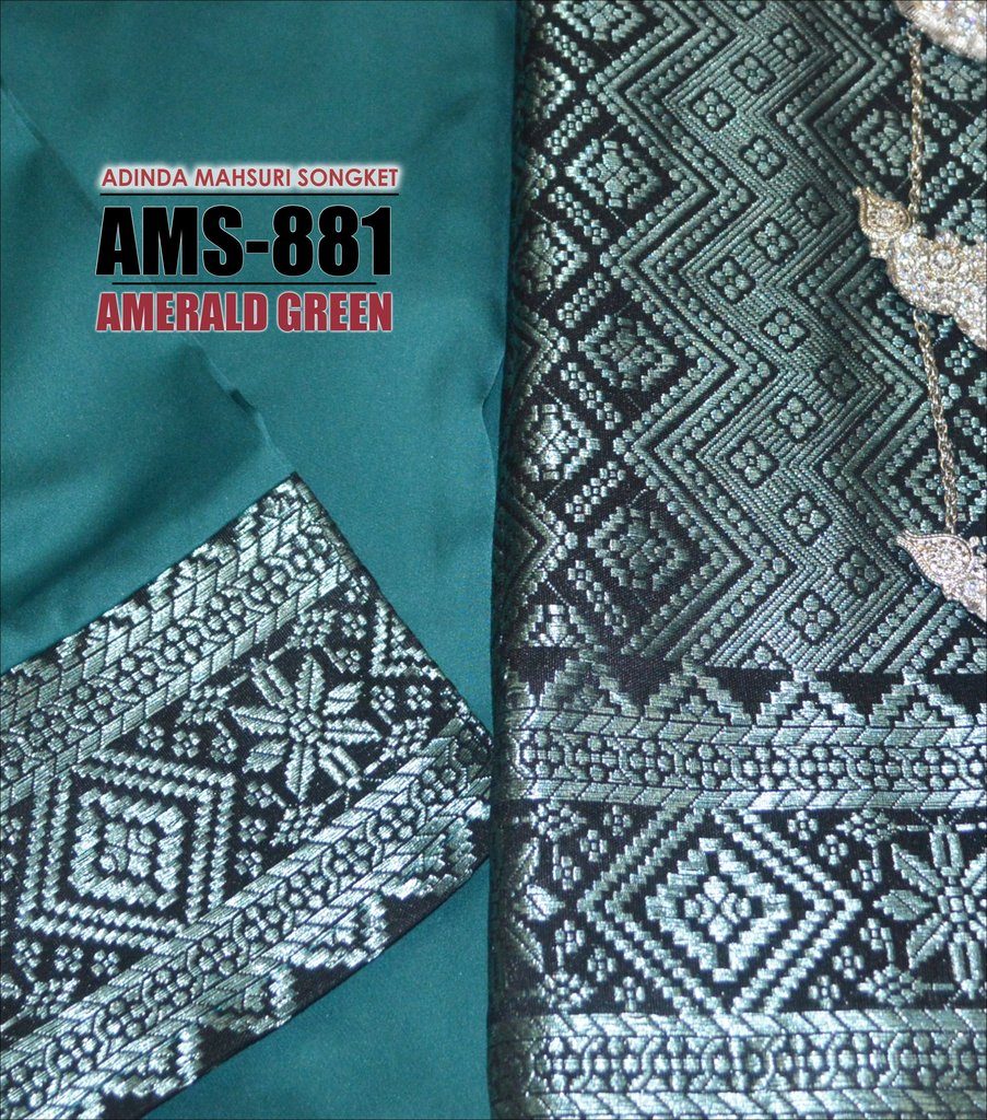 KURUNG PAHANG ADINDA MAHSURI SONGKET AMS881 B