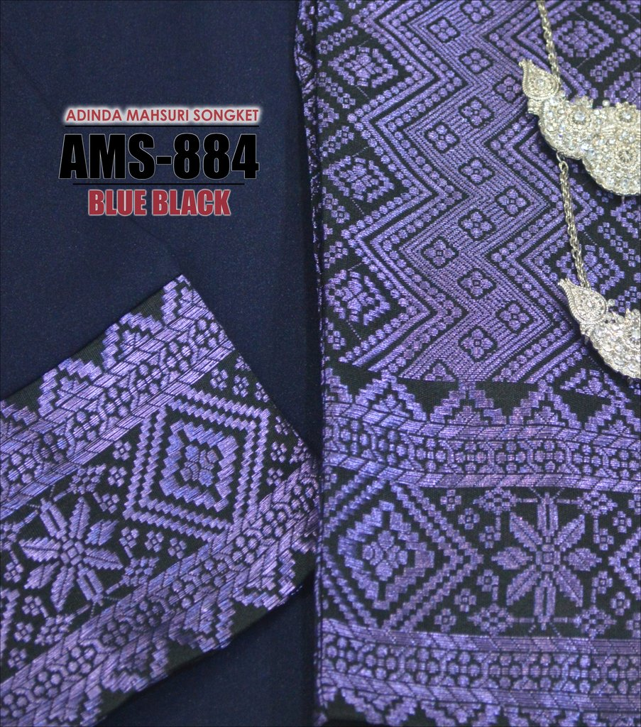 KURUNG PAHANG ADINDA MAHSURI SONGKET AMS884 B