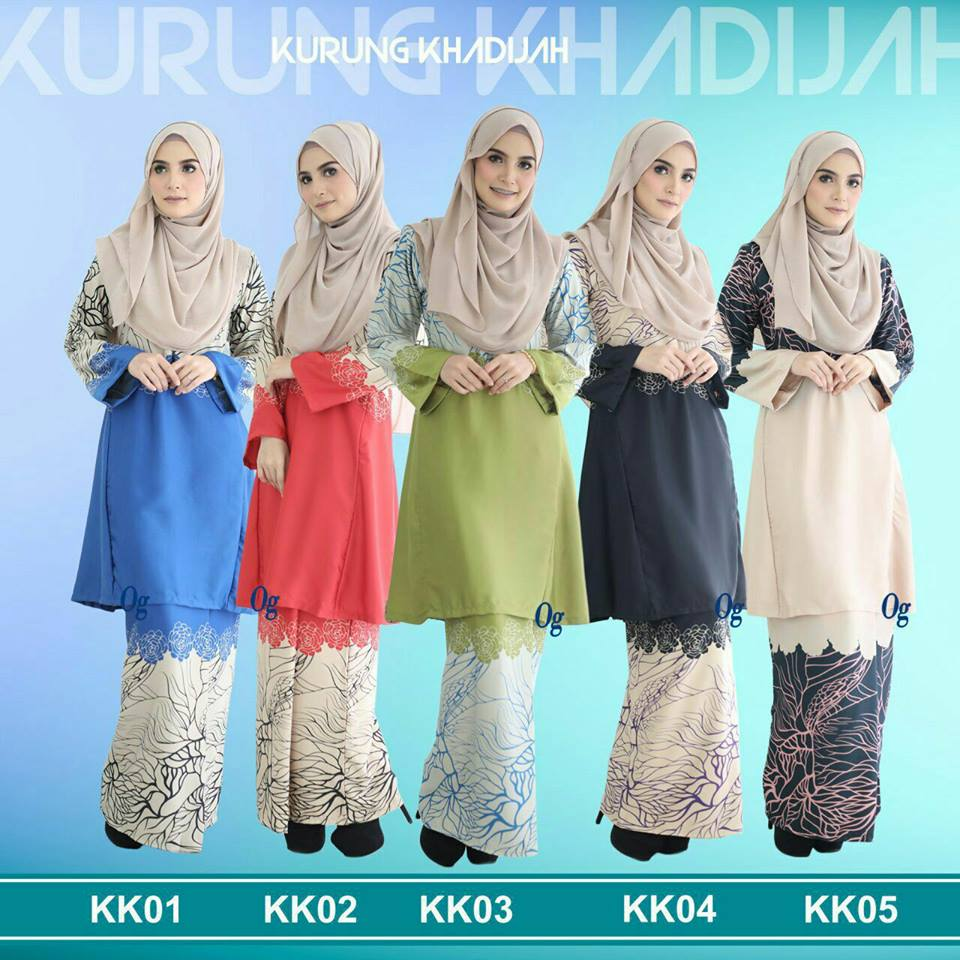 KURUNG PAHANG SATIN KHADIJAH ALL