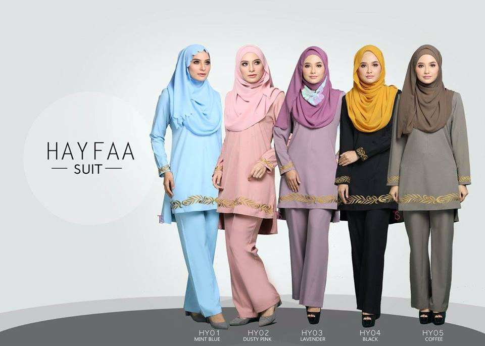 SUIT MUSLIMAH HAYFAA ALL