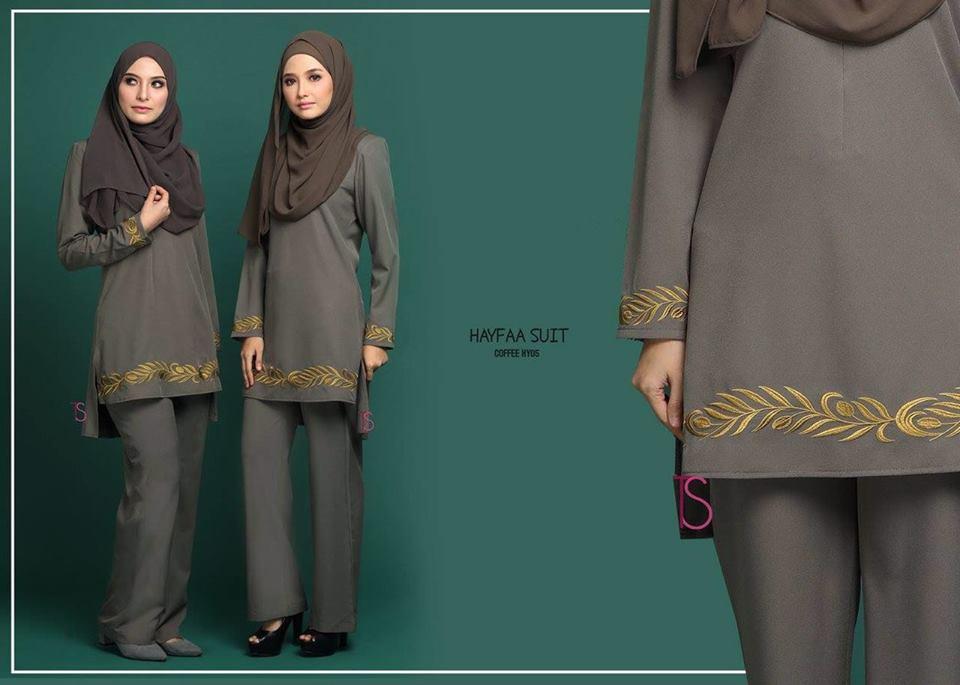 SUIT MUSLIMAH HAYFAA HY005 B