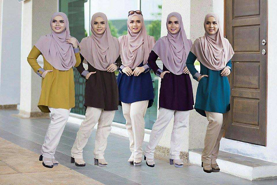 BLOUSE MUSLIMAH ASTER ALL