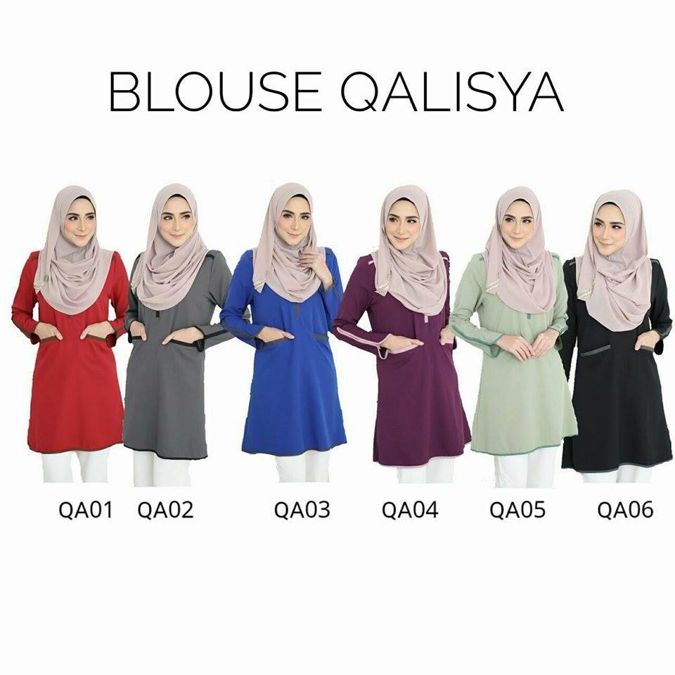 BLOUSE QALISYA QLL