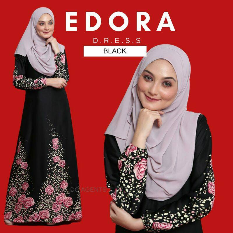 DRESS EDORA BLACK 1