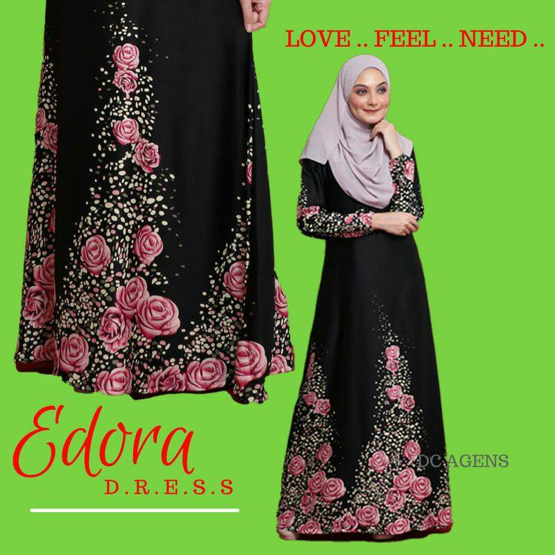 DRESS EDORA BLACK 2
