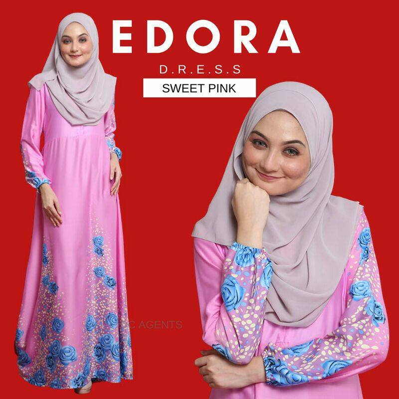DRESS EDORA SWEET PINK 1