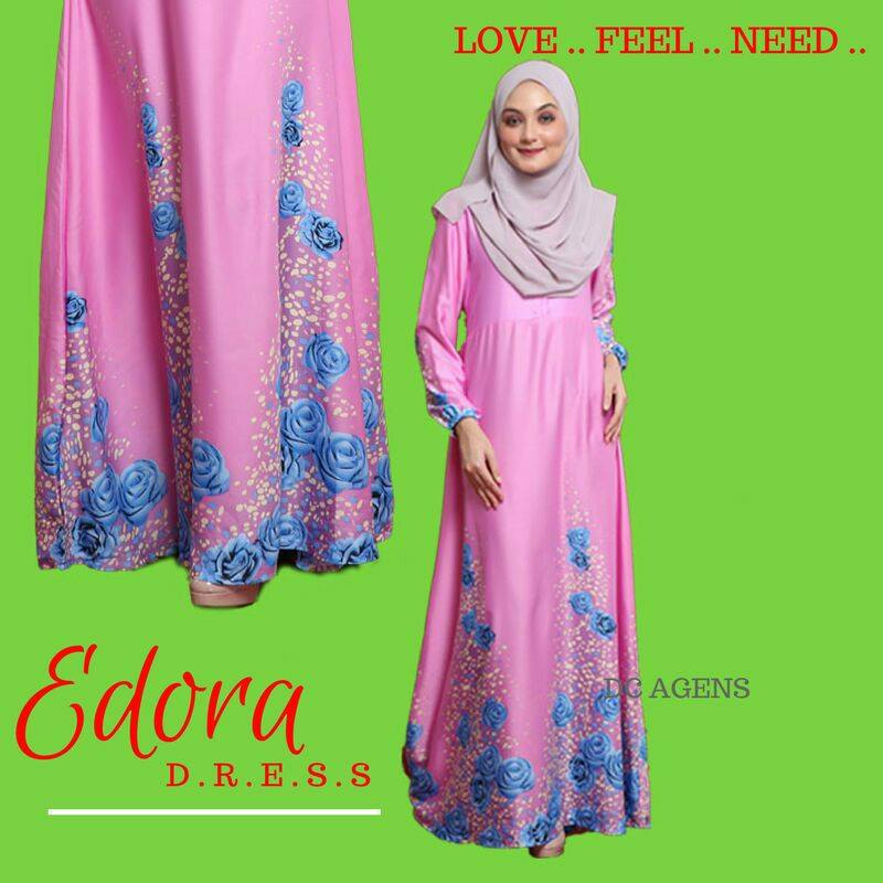 DRESS EDORA SWEET PINK 2