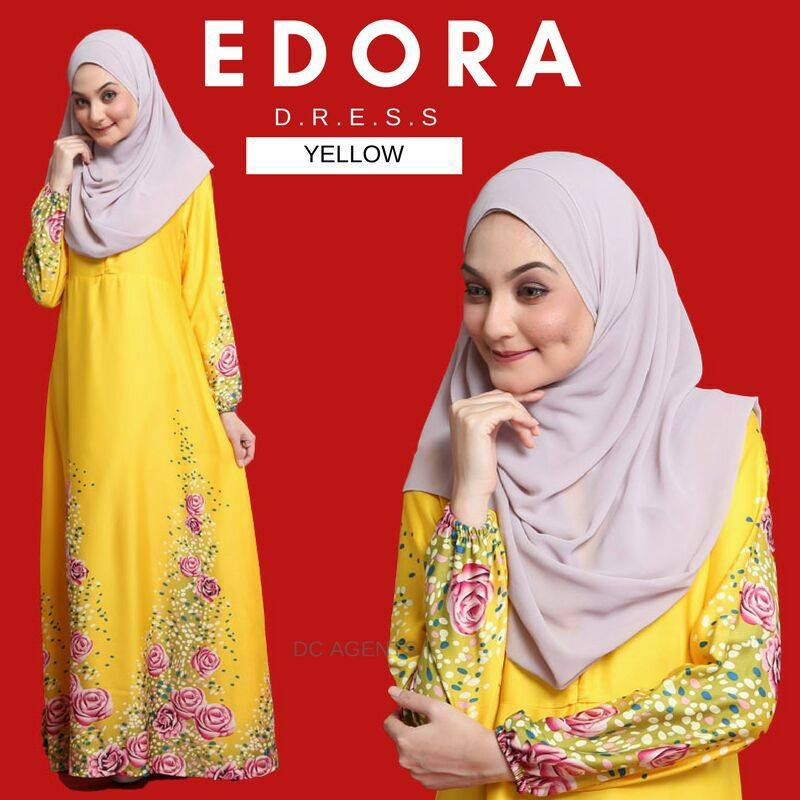 DRESS EDORA YELLOW 1