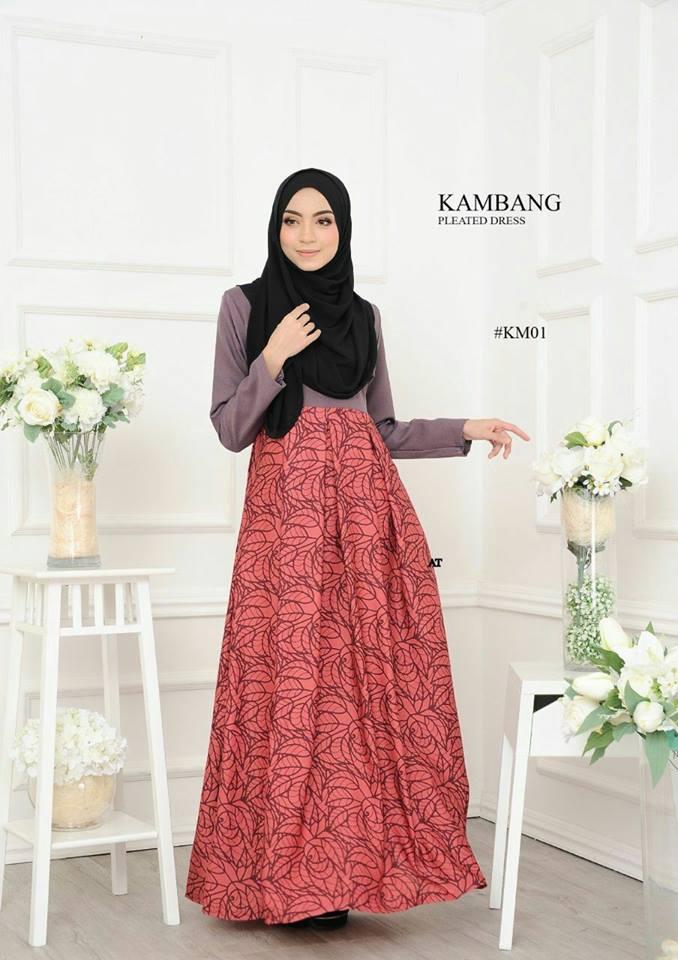 DRESS KAMBANG PLEATED KM01