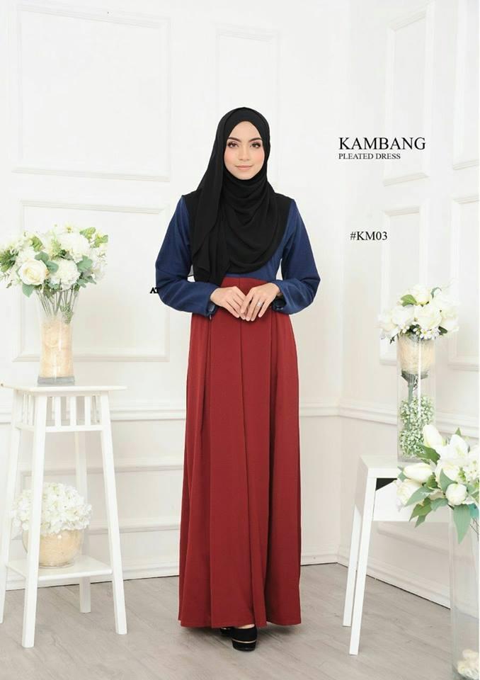 DRESS KAMBANG PLEATED KM04