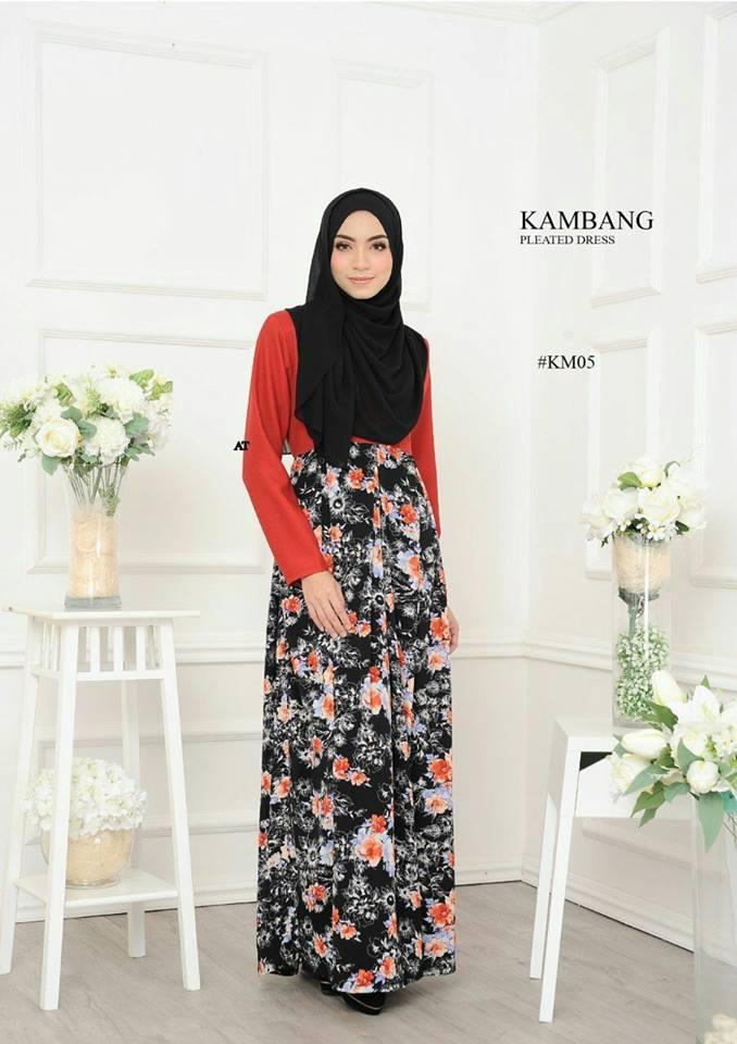 DRESS KAMBANG PLEATED KM05