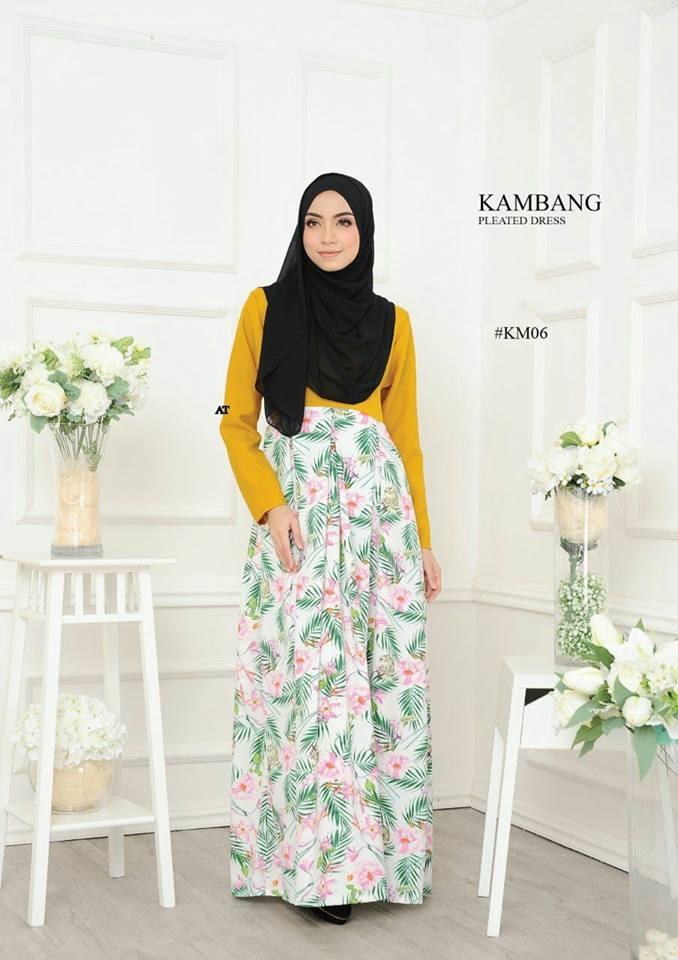 DRESS KAMBANG PLEATED KM06