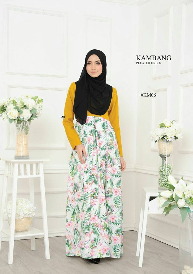 DRESS KAMBANG PLEATED KM06
