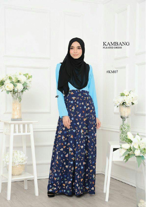 DRESS KAMBANG PLEATED KM07