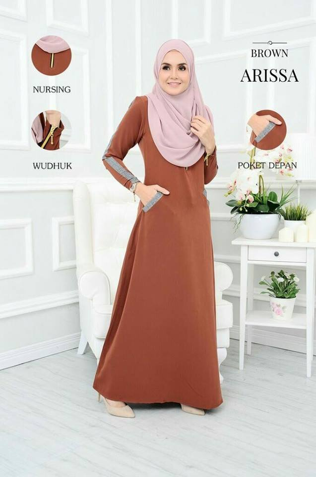 JUBAH ARISSA BROWN