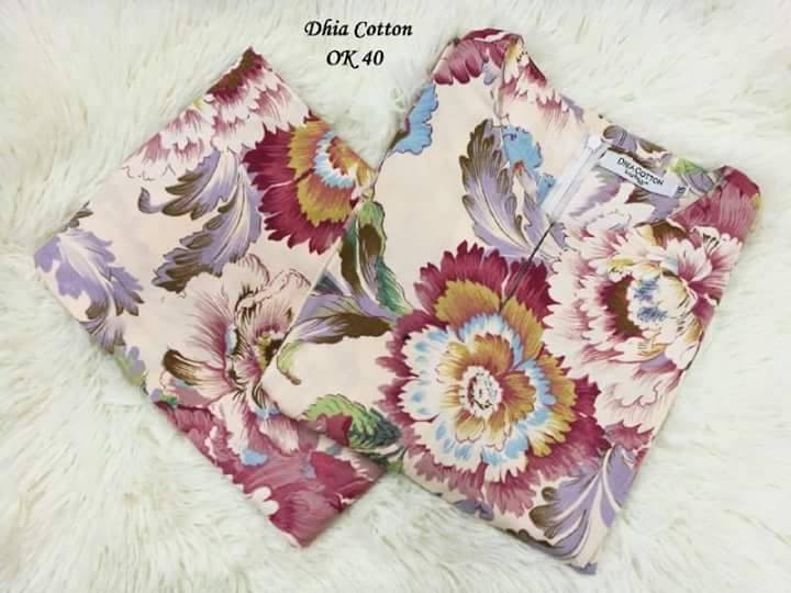 KURUNG MODEN DHIA ENGLISH COTTON OK40