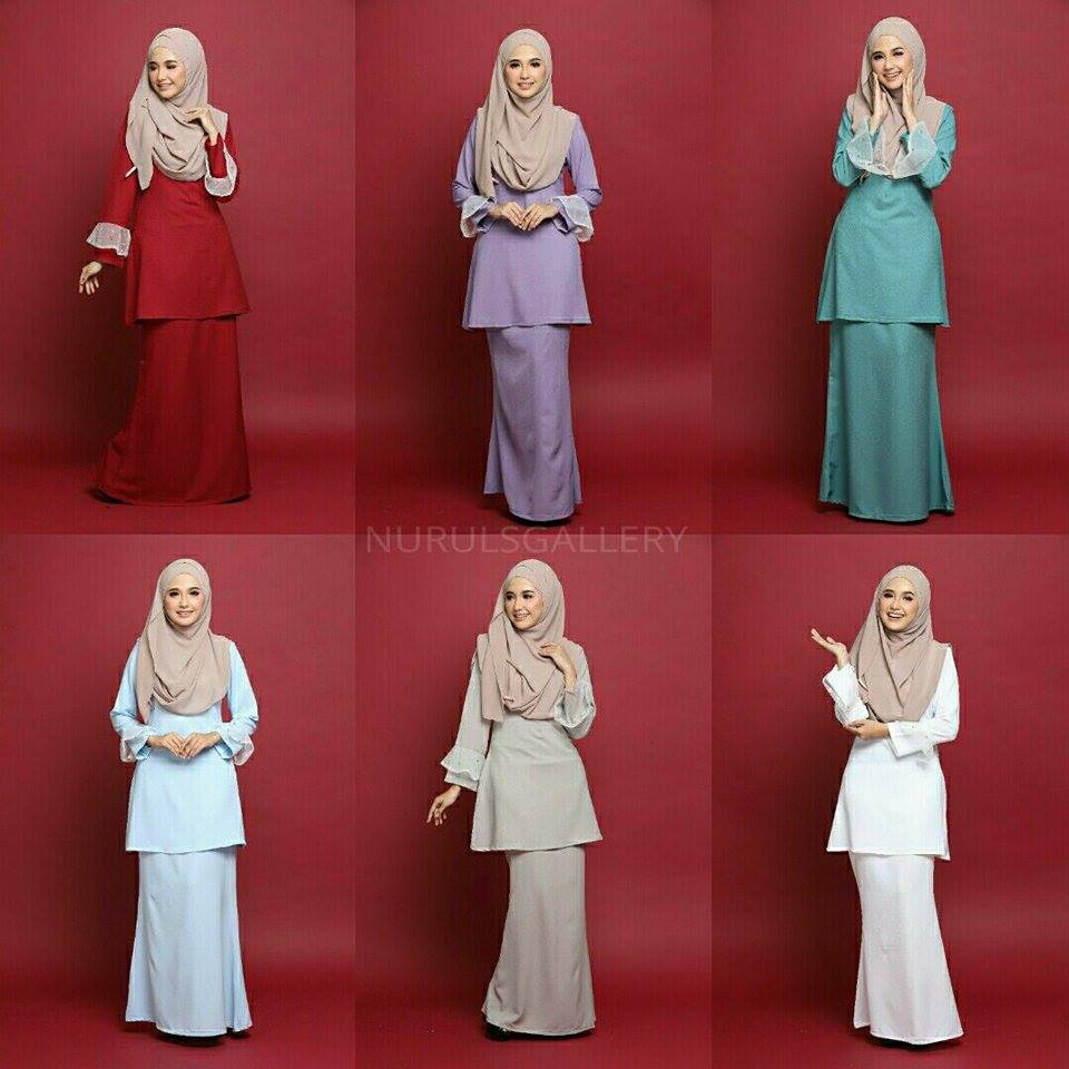 KURUNG MODEN ZAHARA NET ALL