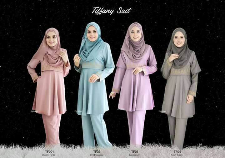 SUIT MUSLIMAH TIFFANY ALL