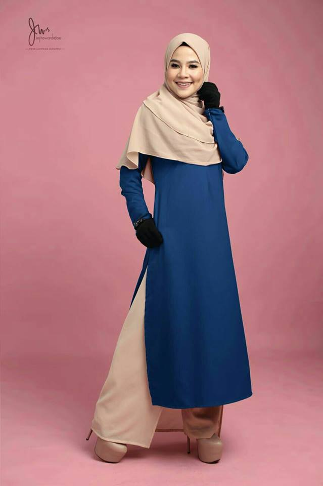 TUNIC ADONIA NAVY BLUE