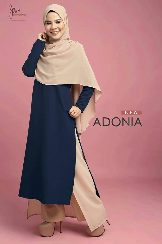 TUNIC ADONIA ROYAL BLUR