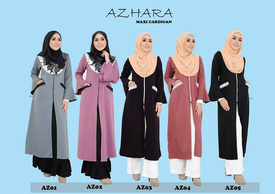AZHARA MAXI CARDIGAN ALL