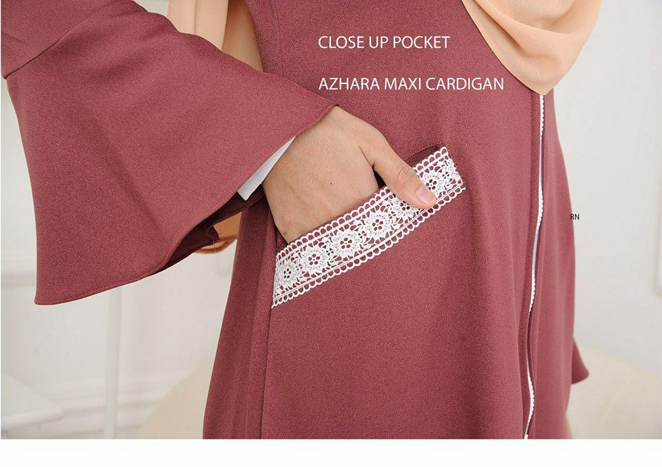 AZHARA MAXI CARDIGAN CLOSE UP 2