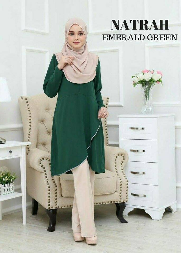 BLOUSE NATRAH E GREEN