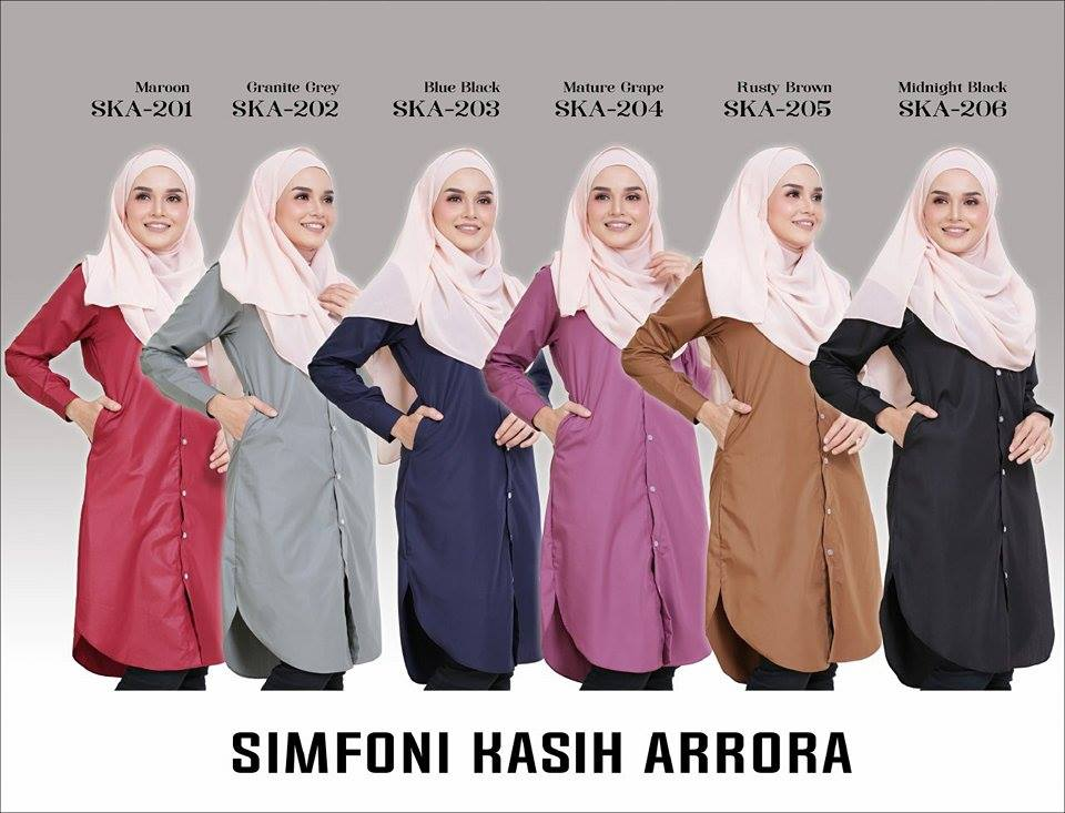 BLOUSE SIMFONI KASIH ARRORA SKA ALL